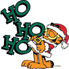 Garfield, Christmas