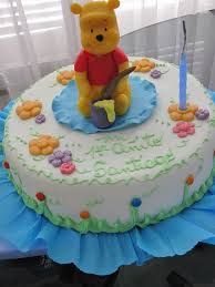 Resultado de imagen para centro de mesa winnie pooh bebe
