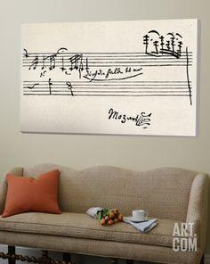 Cadenza, with Mozarts Signature Loft Art