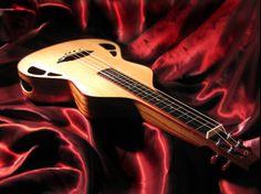 My Wise-N-Uke. Steel string, lap slide, baritone ukulele.  www.roberts-guitars.com