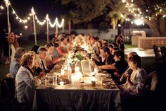 How to Build Your Wedding Guest List (Photo by Millie Holloman via Southern Weddings)