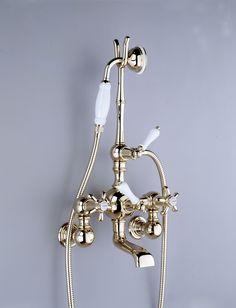 Wall-mounted bath mixer, Serie 1900