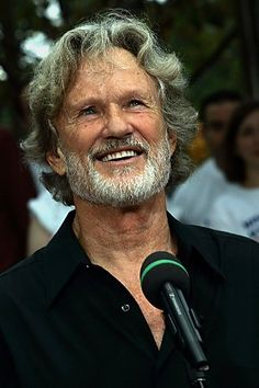 Kris Kristofferson, saw him at Havelock Jamboree unplugged!! I could sit and listen to him forever!! Such a sexy voice and man!!!!!!