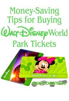 2018 Discount Disney World Ticket Tips - Disney Tourist Blog
