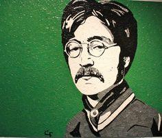John Lennon by Chance Foreman