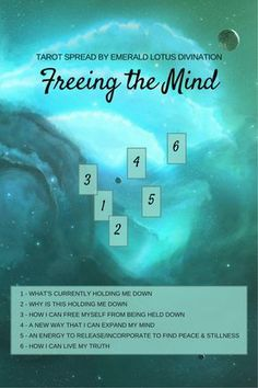 Find our what is weighing you down and preventing further expansion. View more free tarot spread at www.emeraldlotus.ca