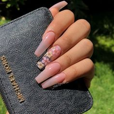 Top 101 acrylic nail designs of may 2019 page 3 – Long Nail Designs – Water – acrylicnails Summer Acrylic Nails, Acrylic Nail Art, Acrylic Nail Designs, Clear Acrylic Nails, Summer Nails, Holiday Acrylic Nails, Acrylic Nails Coffin Pink, Acrylic Tips, Nail Designs Pictures