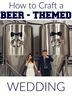 8 fun and creative ways to incorporate beer into your nuptials
