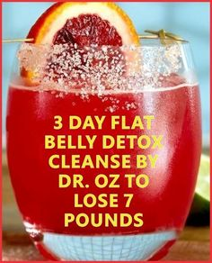 is a powerful 3 day flat belly detox cleanse by Dr. OZ to lose 7 pounds of fat from your stomach. If you have been trying to lose weight around your belly area without success, this fat-burning flat belly detox will give you almost instant results. Diet Drinks, Healthy Drinks, Healthy Lunches, Tequila Drinks, Beverages, Healthy Eating, Flat Belly Detox, Stomach Detox, Bebidas Detox