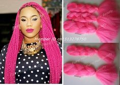 ... pink-color-kanekalon-synthetic-braidings-super-jumbo-braiding-free