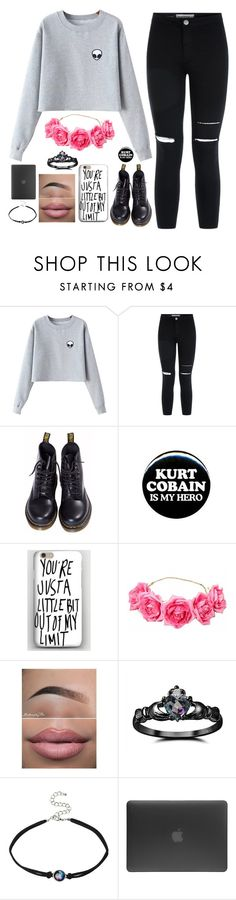"""Untitled #951"" by chill-outfits ❤ liked on Polyvore featuring Chicnova Fashion, Dr. Martens, ELSE, Vous Etes, Fidelity, Incase, women's clothing, women, female and woman"