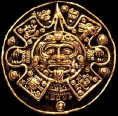 Into the sun. Shift. Light age. {Mayan sun god, Kinich Ahau}