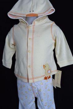 NWT 6-12 Months Gymboree KITTY BALLERINA Striped Velour Hooded JACKET