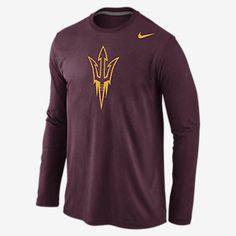 Nike College Logo Long-Sleeve (Arizona State) Men's T-Shirt. Nike Store