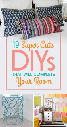 19 Ways To Redecorate Your Room At The Dollar Store- some of these are super lame, but a couple might be doable.