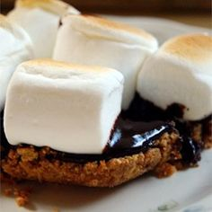 Chocolate Ganache S'mores Recipe