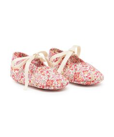 Little Royals Liberty Coquelicot Booties
