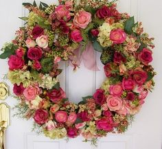Rose Bud Wreaths