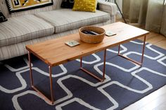 DIY Copper Pipe Table - 7 Things You Can Make with Copper Pipes ...