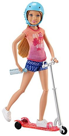 Barbie Stacie Doll & Scooter >>> Check this awesome product by going to the link at the image.