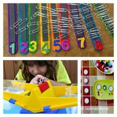 10 STEM projects for preschoolers counting science math Left Brain Craft Brain