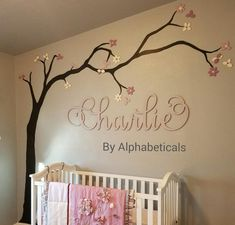Nursery Name Sign Wooden Letters Wall Letters for Nursery