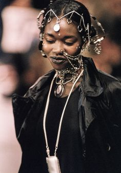 "thotgoth2000: ""highqualityfashion: "" Jean Paul Gaultier SS 94 "" WELL…its clear where GIVENCHY got their latest shit from…. """