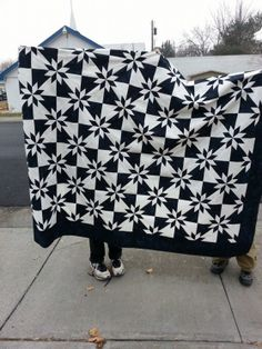Barbara shared her awesome Hunter Star Quilt Top on AccuQuilt Quilter's Spotlight. See Show-and-Tell from other quilters or share your favorite. #accuquilt