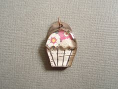 cupcake pendant by jadescott on Etsy