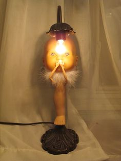 42 Best Creepy doll lamps - Home lighting by rePSYCHOlamp images ...