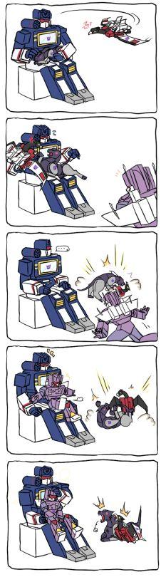 Super 7 reação Figura de ação Transformers Soundwave