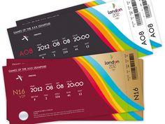 32 Excellent Ticket Design Samples | UPrinting Blog