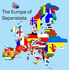 Risultati immagini per europe separatists map American Funny Videos, Awkward Texts, Geography Map, Indian Funny, Futuristic Art, Alternate History, Country Art, Flag Country, Flags Of The World