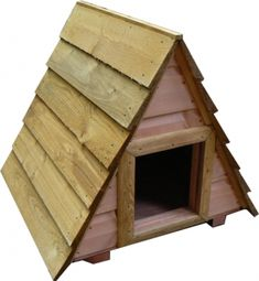 Outdoor cat house.