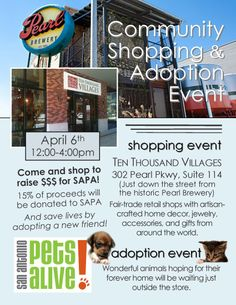 Shop for a cause at Ten Thousand Villages!