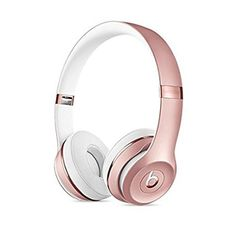 Beats by Dre Rose Gold- Manufacturer Refurbished and are like new. Enjoy award-winning Beats sound with Class 1 Bluetooth® wireless listening freedom. Connect via Class 1 Bluetooth with your device for wireless listening. Beats Solo 3 Wireless, Wireless Headphones, Beats Headphones, Over Ear Headphones, Workout Headphones, Studio Headphones, Bling Bling, Rose Gold Gifts, Ipod Touch 6th