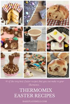 10 of the Very Best Thermomix Easter Recipes! This ultimate collection is one fo. 10 of the Very Best Thermomix Easter Recipes! This ultimate collection is one for the true chocoholics out there. Easter Dinner Recipes, Easter Brunch, Easter Party, Cadbury Creme Egg Recipes, Easter Cocktails, Desserts Ostern, Easter Chocolate, Delicious Chocolate, Recipe Collection