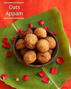 Healthy Evening Snacks, Healthy Snacks For Kids, Healthy Recipes, Easy Recipes, Vegetarian Recipes, Dinner Recipes, Oats Recipes Indian, Paniyaram Recipes, Appam Recipe