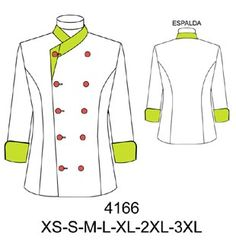 Delantales Coat Pattern Sewing, Coat Patterns, Jacket Pattern, Spa Uniform, Hotel Uniform, Restaurant Uniforms, Corporate Uniforms, Womens Scrubs, Sewing Aprons