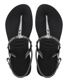 Havaianas Flip-Flop Black Freedom Sandal   zulily
