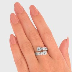 1.99 Carat Cross Over Round Brilliant Cut Diamond Dress Ring in 18K Wh – Shimansky Diamond Dress, Dress Rings, Diamond Cuts, Ring Styles, White Gold, Engagement Rings, Jewelry, Enagement Rings, Wedding Rings