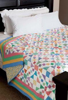 Emily s Wedding Quilt Pattern - Quilting Digest Foltvarrás Maradékból ac7f871ace