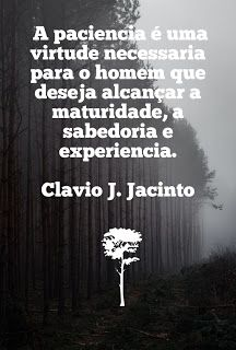 Pr C. J. Jacinto: A Paciencia