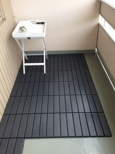 ikea runnen empfehlenswert balkon fliesen janas. Black Bedroom Furniture Sets. Home Design Ideas