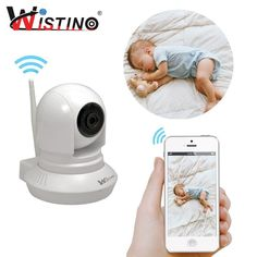 Wistino Wireless Security IP Camera WiFi Security Surveillance System remote viewing Smart Home Monitoring CCTV Surveillance Sys