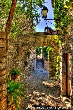 Seguret, Provence, France: