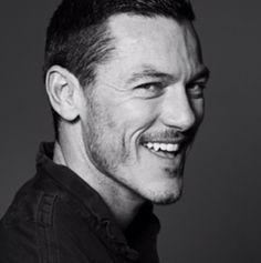 Luke Evans. Just too damn handsome to handle.