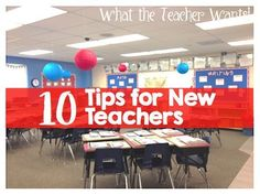 Top Ten Tips for New Teachers! I must read for any first year teacher! (Plus a freebie!!)