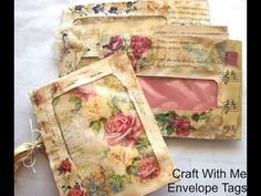Craft With Me/Medieval Mirage Envelope Pocket Plus Lots Of Chatting Fabric Journals, Journal Paper, Book Journal, Art Journals, Journal Covers, Journal Ideas, Security Envelopes, Pocket Envelopes, Homemade Envelopes