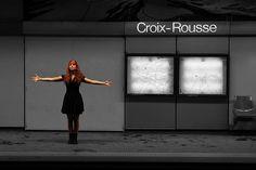 Metro Lyon 23 Croix Rousse 1 (see more on http://www.tranchesdunet.com/les-stations-de-metro-lyonnaises-en-images/ )